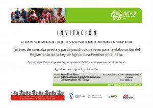 invitacion LAMBAYEQUE