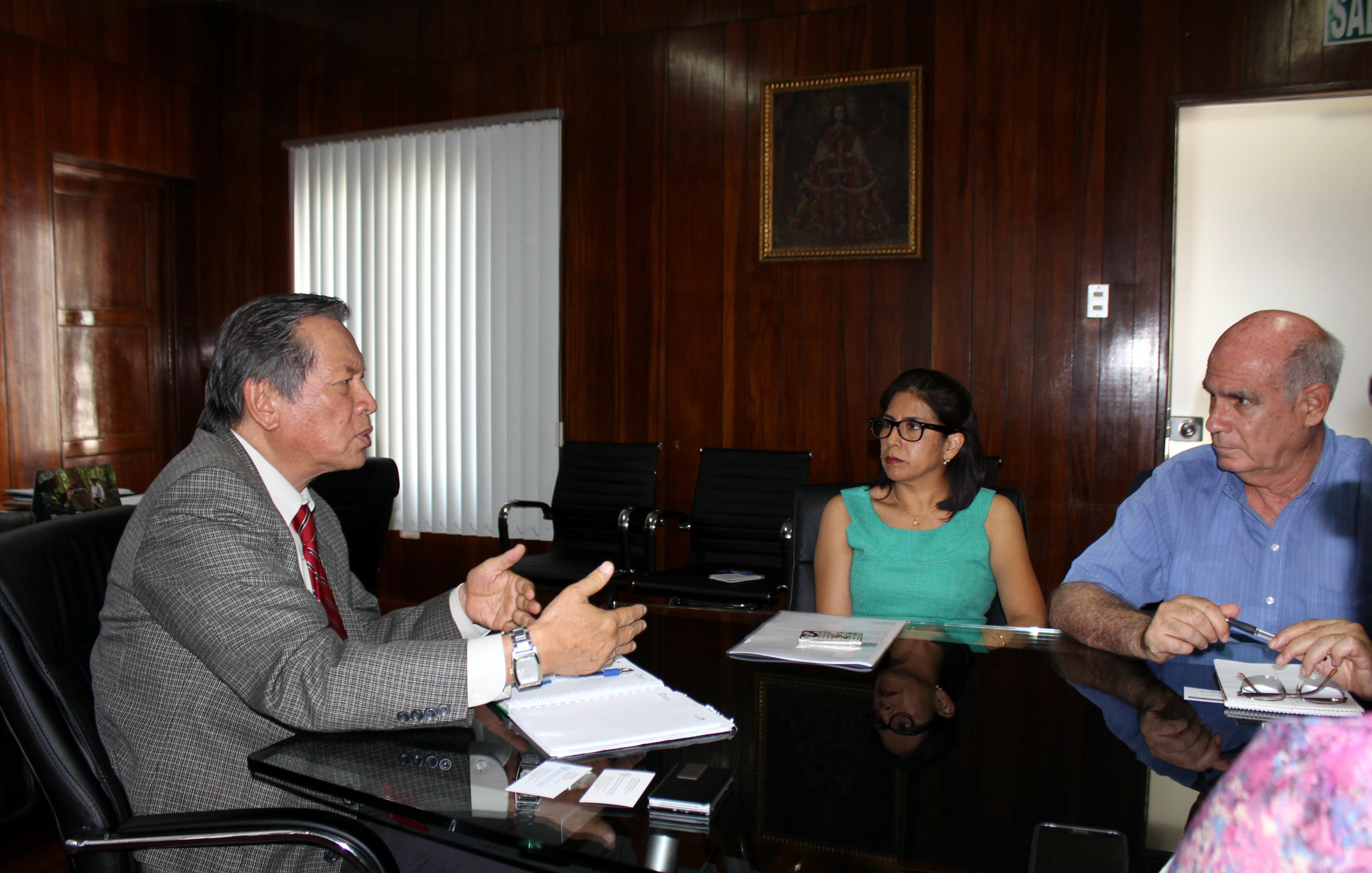 Representantes de la FAO se reunieron con la Dirección Ejecutiva de ...